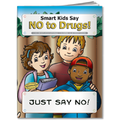 Smart Kids Say No To Drugs Activity Book