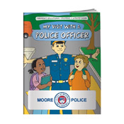 My Visit with a Police Officer Activity Book