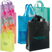 Foil Accent Shopper