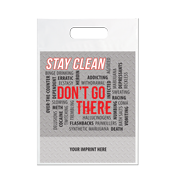 Stay Clean - Die Cut Bag