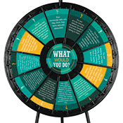 """What Would You Do?"" Wheel University Graphics Only"