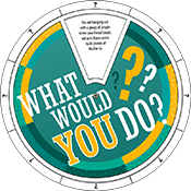 """What Would You Do?"" Edu-Wheel"