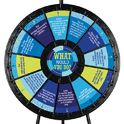 """What Would You Do?"" Wheel - Parenting Graphics Only"