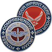 Comprehensive Airman Fitness Coin
