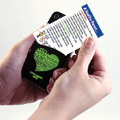 Healthy Parenting Phone Pocket Wallet Card