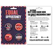 Equal Opportunity Button Pack