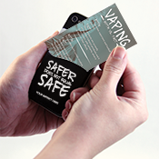 Vape Phone Pocket Wallet Card