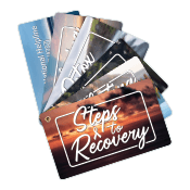 Steps to Recovery Info Cards