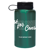 Teal Stainless Steel Bottle