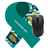 Sexual Assault Prevention Ribbon Mousepad