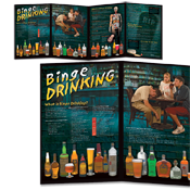 Binge Drinking Awareness Board