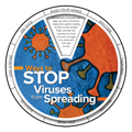 Stop Viruses From Spreading Edu-Wheel